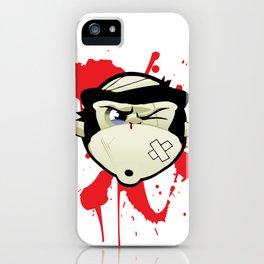 Dojo Monkey - Lover not a Fighter iPhone Case