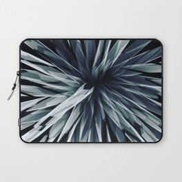 Perspective Facets-Retro Blue Laptop Sleeve