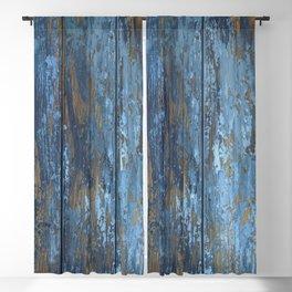 Beautiful rustic wood texture Blackout Curtain