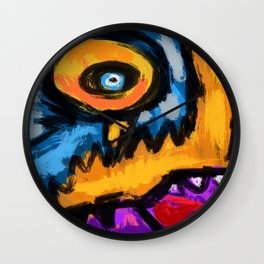 Speed and fury Wall Clock