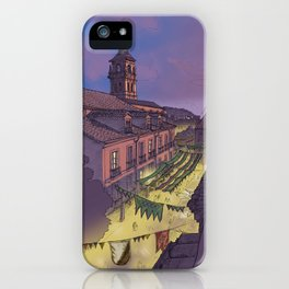 Medieval Fair (color) iPhone Case