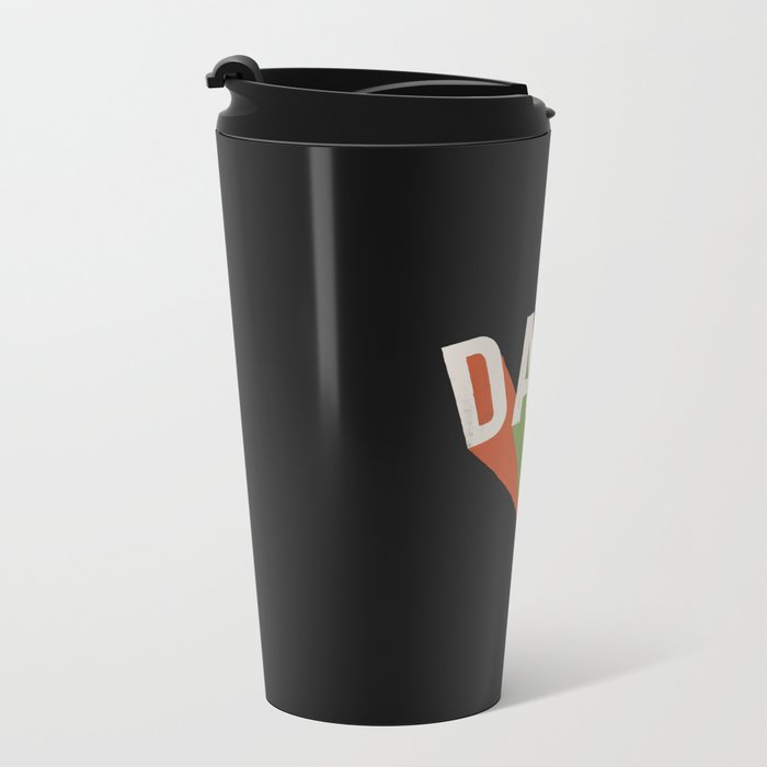 Letters : Daft II Metal Travel Mug