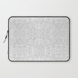 White Lace Laptop Sleeve