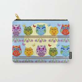 Chilling Summer owls Carry-All Pouch