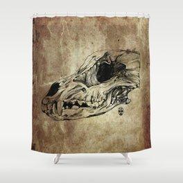 Animal Skull Shower Curtain