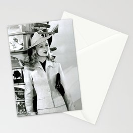 Veronica Lake, Circa 1942 black and white photography - black and white photographs Stationery Cards