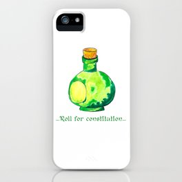 Roll For Constitution iPhone Case