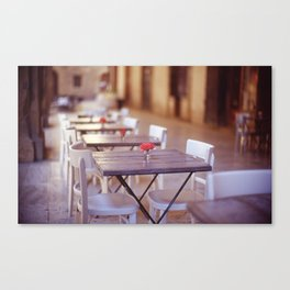 Tuscany Rose Canvas Print