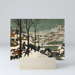 The Hunters in the Snow, Pieter Bruegel the Elder Mini Art Print