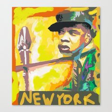 JAY Z's NEW YORK BY Cd Kirven Canvas Print