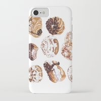 donuts iPhone & iPod Cases featuring Donuts by heatherinasuitcase