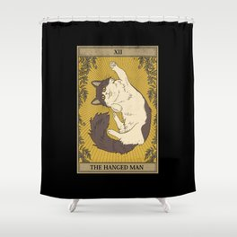 The Hanged Man Shower Curtain
