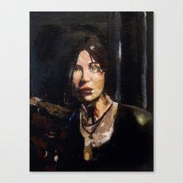 RTR Lara Croft Canvas Print