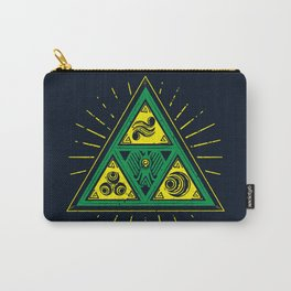 The Tribal Triforce Carry-All Pouch