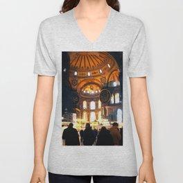 The Apse Of Hagia Sofia Unisex V-Neck