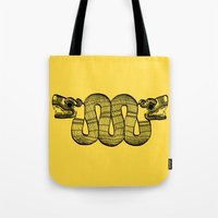 aztec Tote Bags featuring Aztec by Estelle F
