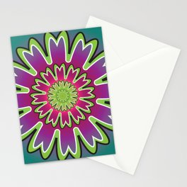 Growth Mandala - מנדלה צמיחה Stationery Cards