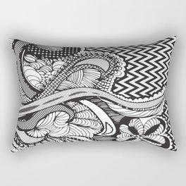 CRZY ZEBRA Rectangular Pillow
