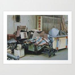 Pile And Pile 1 Art Print