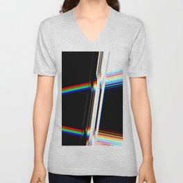 rainbow crack Unisex V-Neck