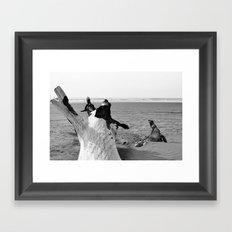 Beachwood II Framed Art Print