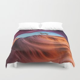 expectations. Duvet Cover
