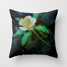 flower cb Throw Pillow