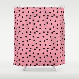 Simply smashing - watermelon polkadots Shower Curtain