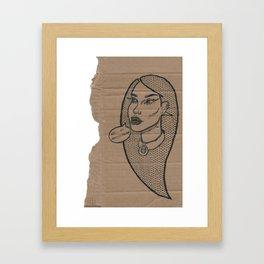 Saudade Framed Art Print