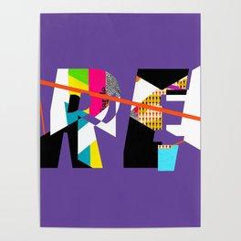 Reinterpretation (collage) Poster