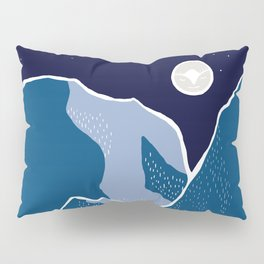 Say goodnight to the mountains Pillow Sham