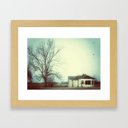 Big Tree, Little House Framed Art Print