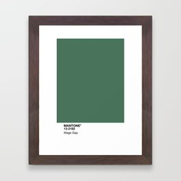 MANTONE® Wage Gap Framed Art Print