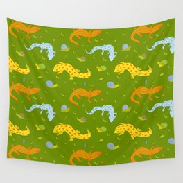 Garden crawlers Wall Tapestry
