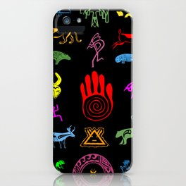 Wisdom and Happiness iPhone Case