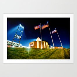 House of Greatness - NFL Pro Football Hall of Fame - Canton Ohio Art Print