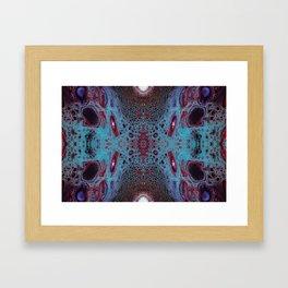 Fragmented 62 Framed Art Print