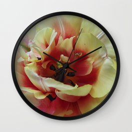 Blending with the Tulip Wall Clock