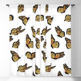 Monarch butterflies Blackout Curtain