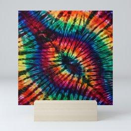 Tye Dye Rainbow Singularity Mini Art Print