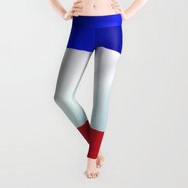 French Grunge Flag Gloss Leggings