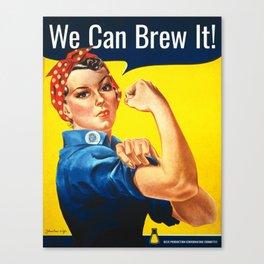Rosie the Brewer Canvas Print