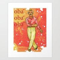 samba Art Print