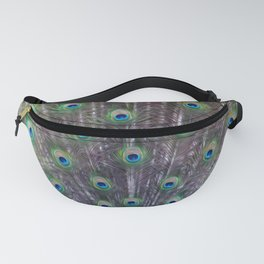 A Peacock's Trance Fanny Pack