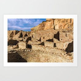 Pueblo Bonito in Chaco Canyon Art Print