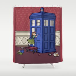 Who wants to Build a Snowman? Shower Curtain