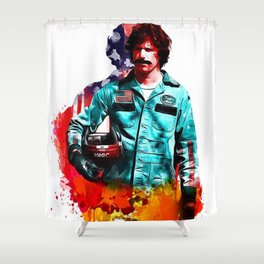 Rod Shower Curtain