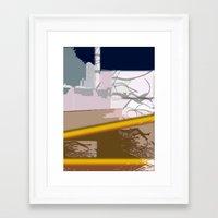 skyline Framed Art Prints featuring Skyline by Jose Luis