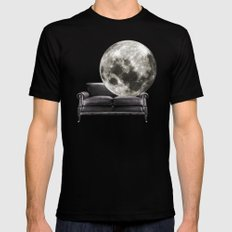 divano X-LARGE Black Mens Fitted Tee