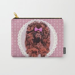 Cute Poodle Dog Carry-All Pouch